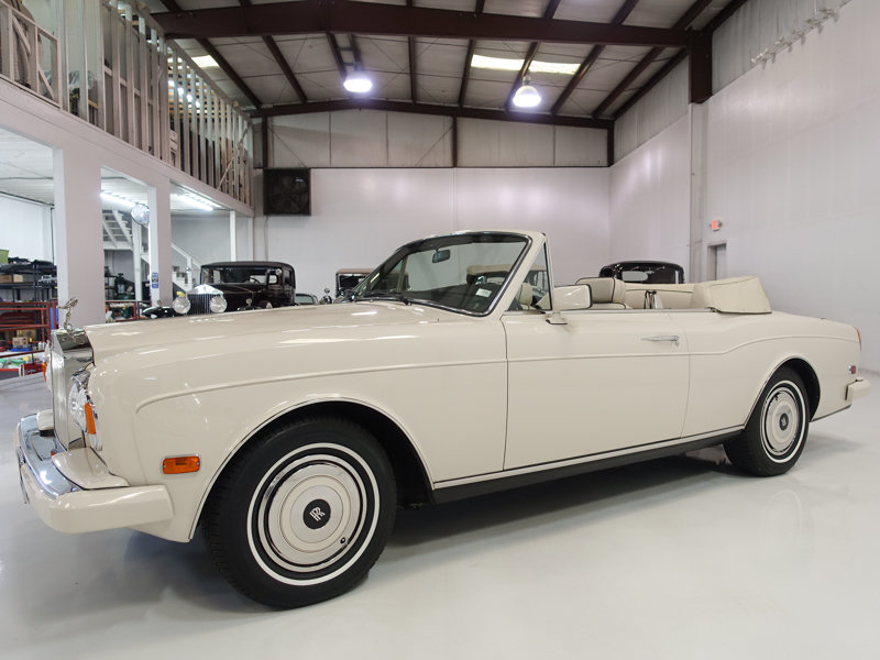 1987 Rolls-Royce Corniche II Convertible For Sale (picture 1 of 6)