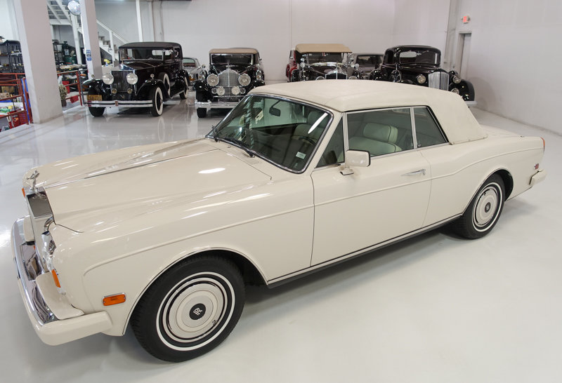 1987 Rolls-Royce Corniche II Convertible For Sale (picture 2 of 6)