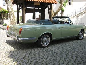 1972 IMMACULATE AND VERY ORIGINAL RHD CORNICHE CONVERTIBLE For Sale