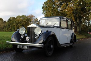 Rolls Royce 25/30 Windovers 1937 - To be auctioned 31-01-20 For Sale by Auction