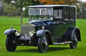 1924 Rolls-Royce 20HP Open Drive Landaulette by Hooper