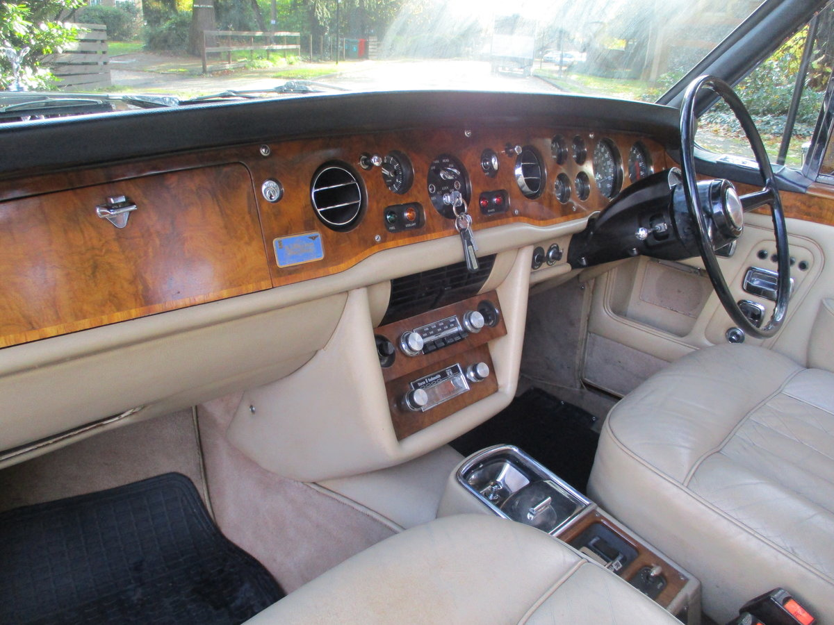 ROLLS CORNICHE CONVERTIBLE 1972 35,900 MILES   ONLY For Sale (picture 13 of 22)