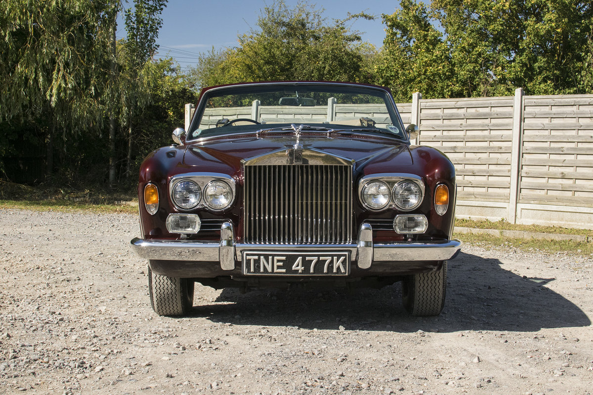 ROLLS CORNICHE CONVERTIBLE 1972 35,900 MILES   ONLY For Sale (picture 15 of 22)