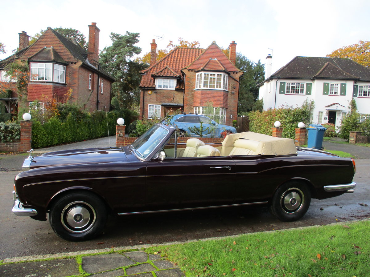ROLLS CORNICHE CONVERTIBLE 1972 35,900 MILES   ONLY For Sale (picture 22 of 22)