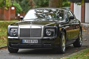 2008 2009 Rolls Royce Phantom Coupe. Left Hand Drive