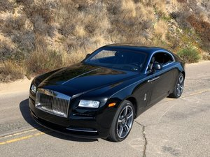 2015  Rolls Royce Wraith Diamond Black Metallic  $obo