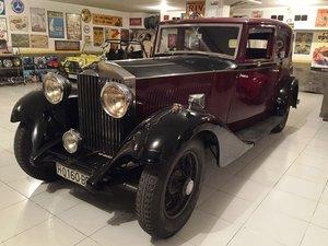 1933 Rolls Royce 20/25 Sports Saloon For Sale