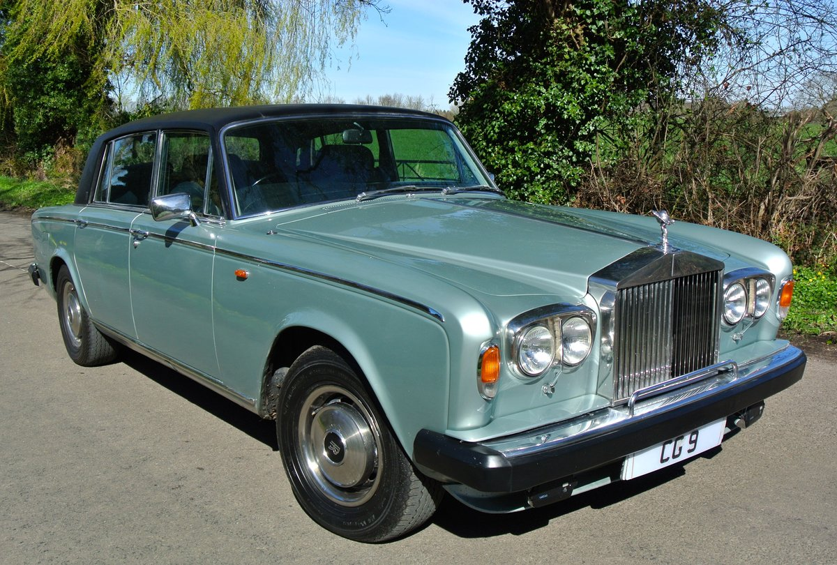 1979 ROLLS ROYCE SILVER WRAITH II 18K MILES 1 OWNER 35 YEARS For Sale (picture 1 of 6)