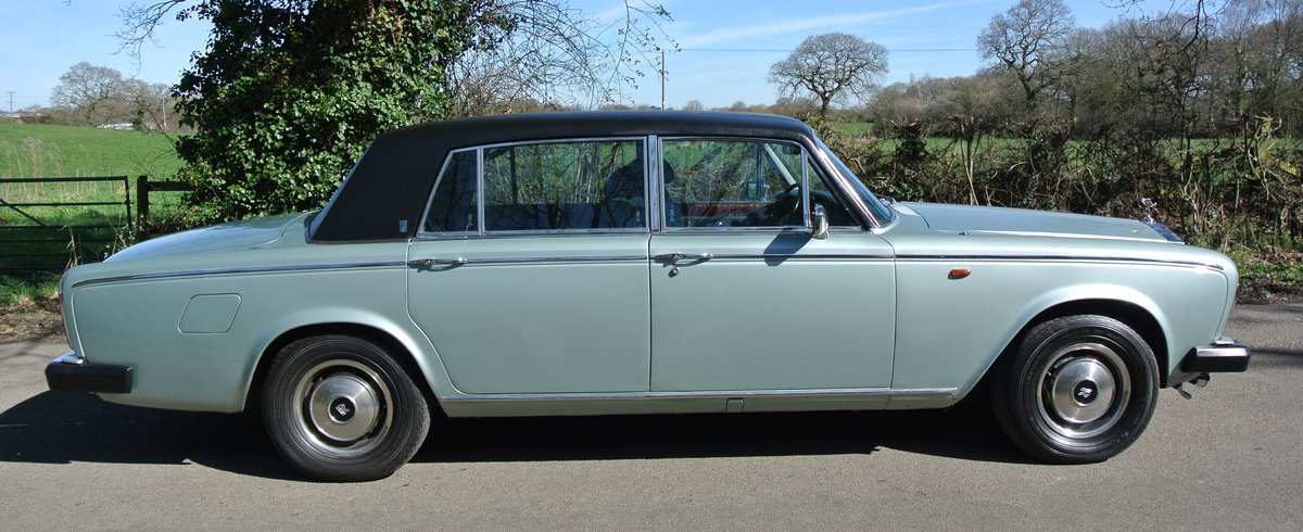 1979 ROLLS ROYCE SILVER WRAITH II 18K MILES 1 OWNER 35 YEARS For Sale (picture 2 of 6)