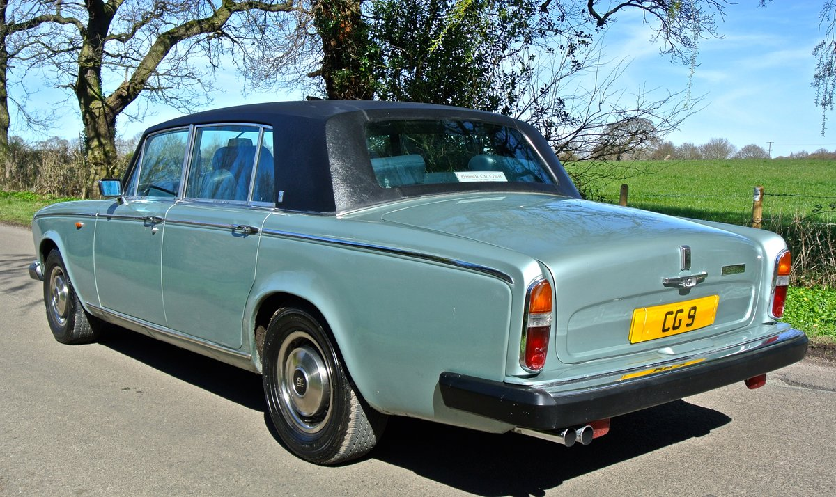 1979 ROLLS ROYCE SILVER WRAITH II 18K MILES 1 OWNER 35 YEARS For Sale (picture 3 of 6)