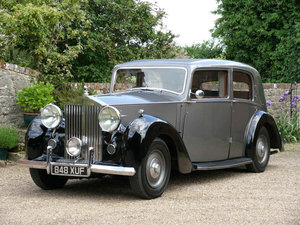 1947 Rolls-Royce Silver Wraith Formal Saloon by Barker   For Sale