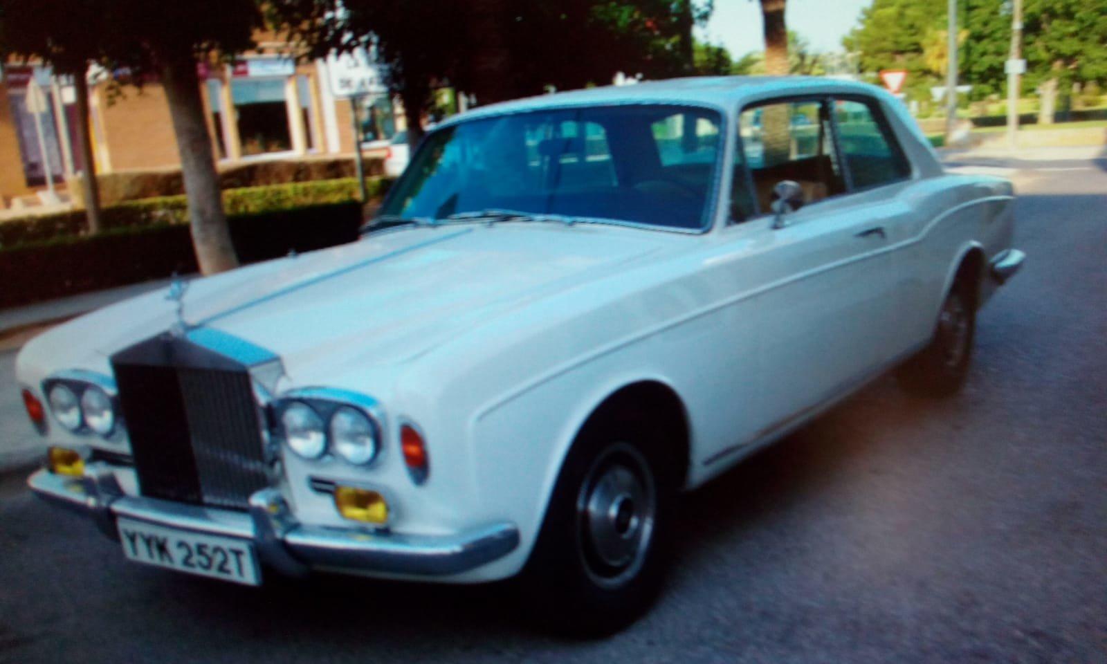 1978 RR corniche coupe sun roof 1973 For Sale (picture 1 of 6)