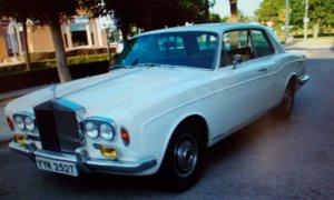 RR corniche coupe sun roof 1973