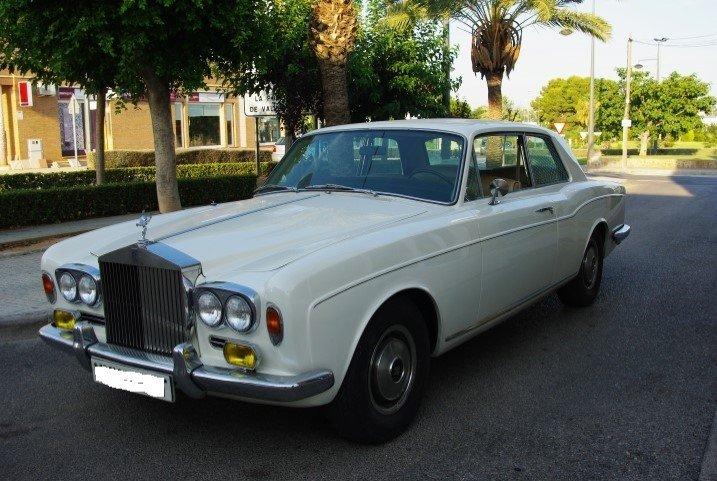 1978 RR corniche coupe sun roof 1973 For Sale (picture 2 of 6)