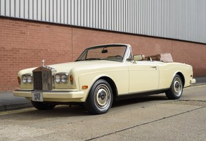 1991 Rolls-Royce Corniche III Convertible for sale in London For Sale