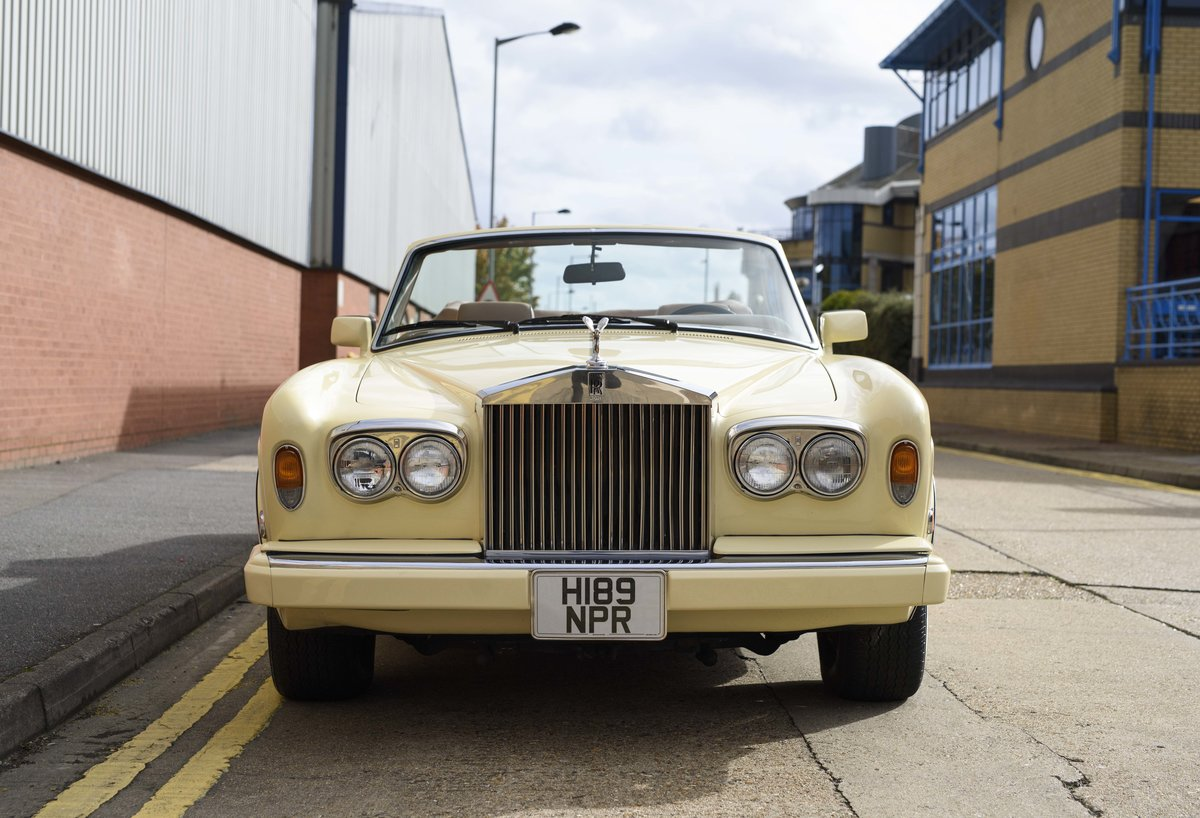 1991 Rolls-Royce Corniche III Convertible for sale in London For Sale (picture 7 of 23)
