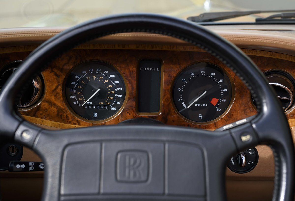 1991 Rolls-Royce Corniche III Convertible for sale in London For Sale (picture 15 of 23)
