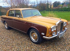 1973 ROLLS ROYCE SILVER SHADOW1 - LOW OWNER + MILES - FSH STUNNER For Sale