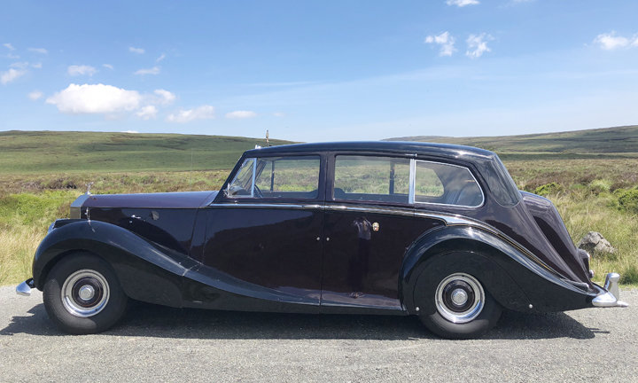 1957 Rolls Royce Silver Wraith (Ex Royal Family Car) For Sale (picture 2 of 5)