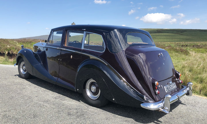 1957 Rolls Royce Silver Wraith (Ex Royal Family Car) For Sale (picture 3 of 5)