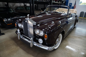 1965 Rolls Royce Silver Cloud III Drophead Coupe SOLD