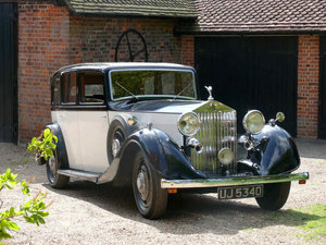 1935 Rolls Royce 20/25 SportsSaloon By Thrupp & Maberly  For Sale