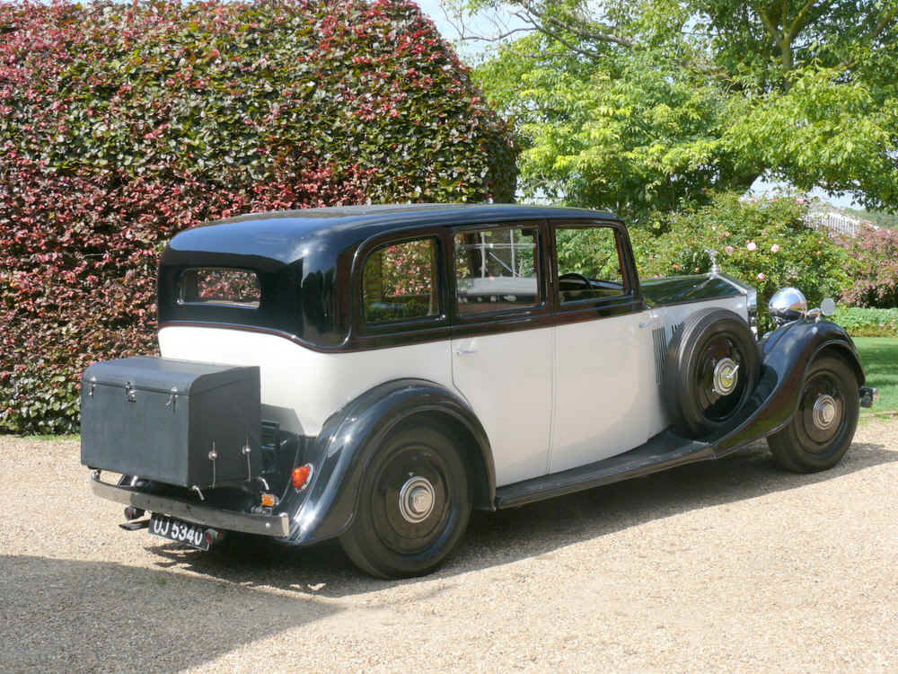 1935 Rolls Royce 20/25 SportsSaloon By Thrupp & Maberly  For Sale (picture 2 of 6)
