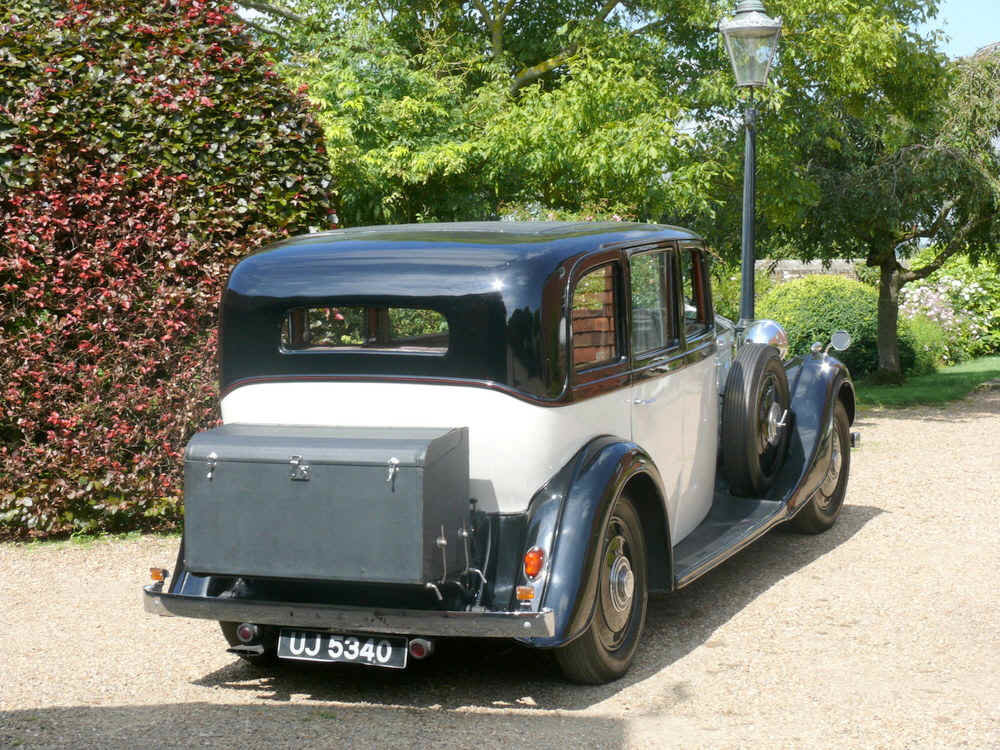 1935 Rolls Royce 20/25 SportsSaloon By Thrupp & Maberly  For Sale (picture 3 of 6)