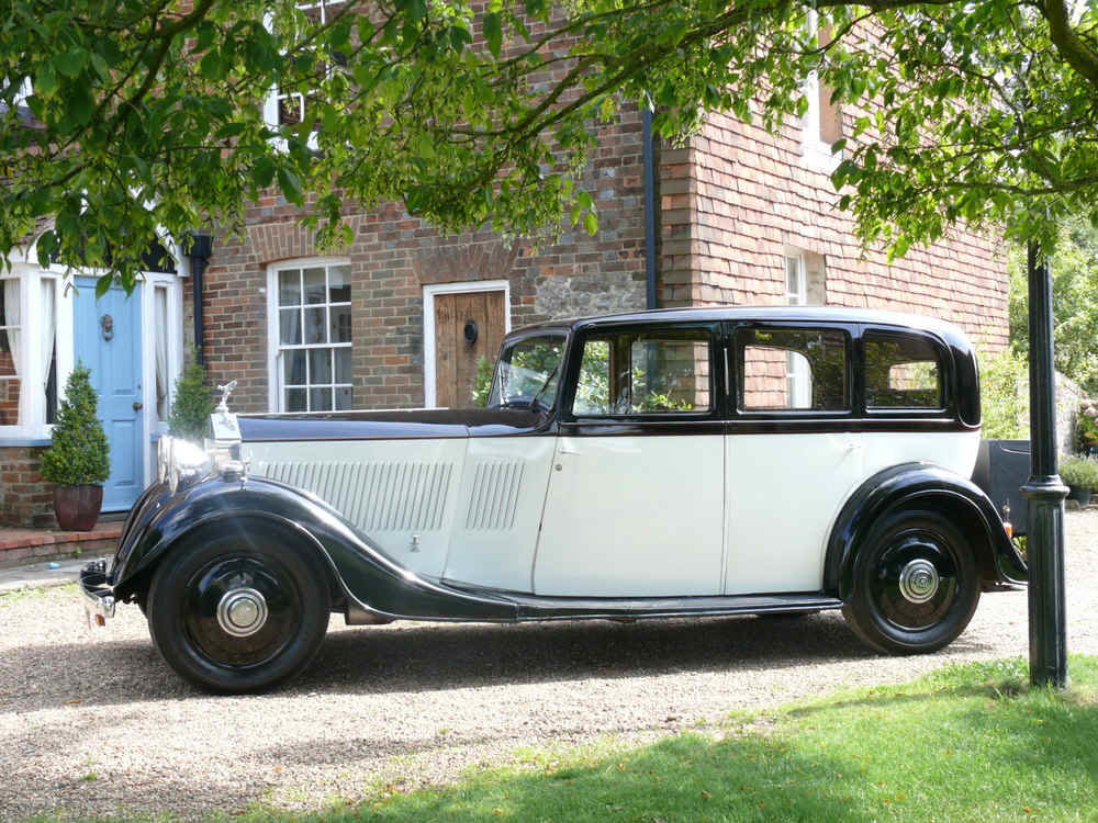1935 Rolls Royce 20/25 SportsSaloon By Thrupp & Maberly  For Sale (picture 4 of 6)