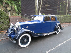 1934 Rolls Royce 20/25 sports saloon