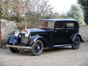 1935 Rolls-Royce 20/25 Saloon by Park Ward