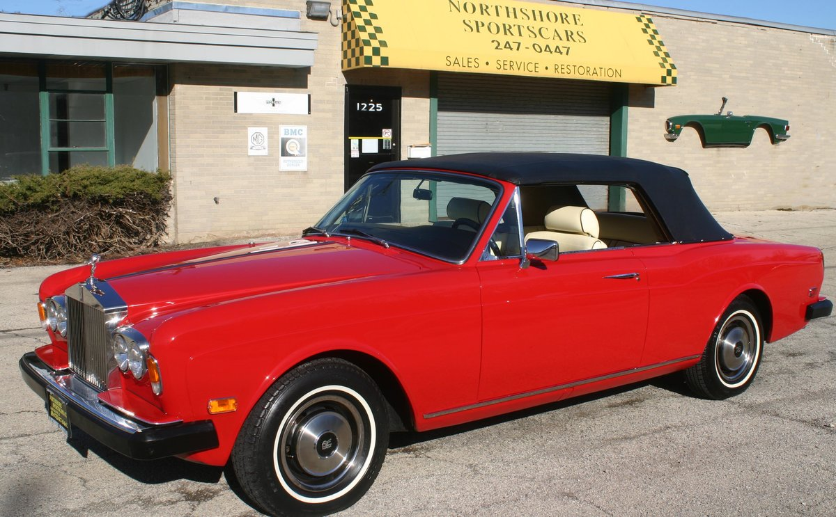 1973 Rolls Royce Corniche SOLD (picture 1 of 6)