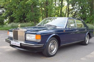 1986 1987 Model RR Silver Spirit EFI ABS, LHD in Royal Blue For Sale
