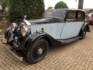 1936 Rolls-Royce 20/25 Sports Saloon For Sale by Auction