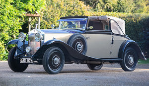 1933 Rolls-Royce 20/25hp Foursome Drophead Coupé