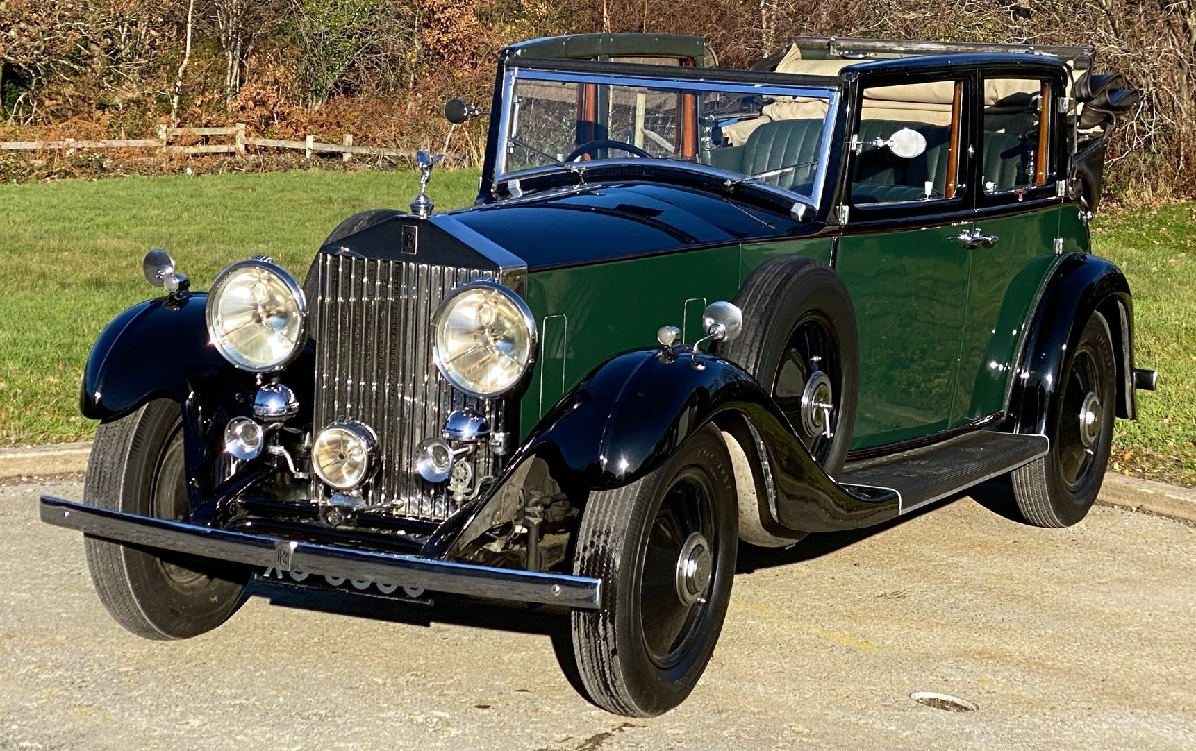 1933   20/25 Salmons 'Tickford' Cabriolet GRW52 For Sale (picture 1 of 6)