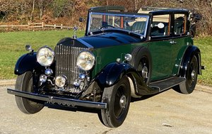 1933   20/25 Salmons 'Tickford' Cabriolet GRW52 For Sale