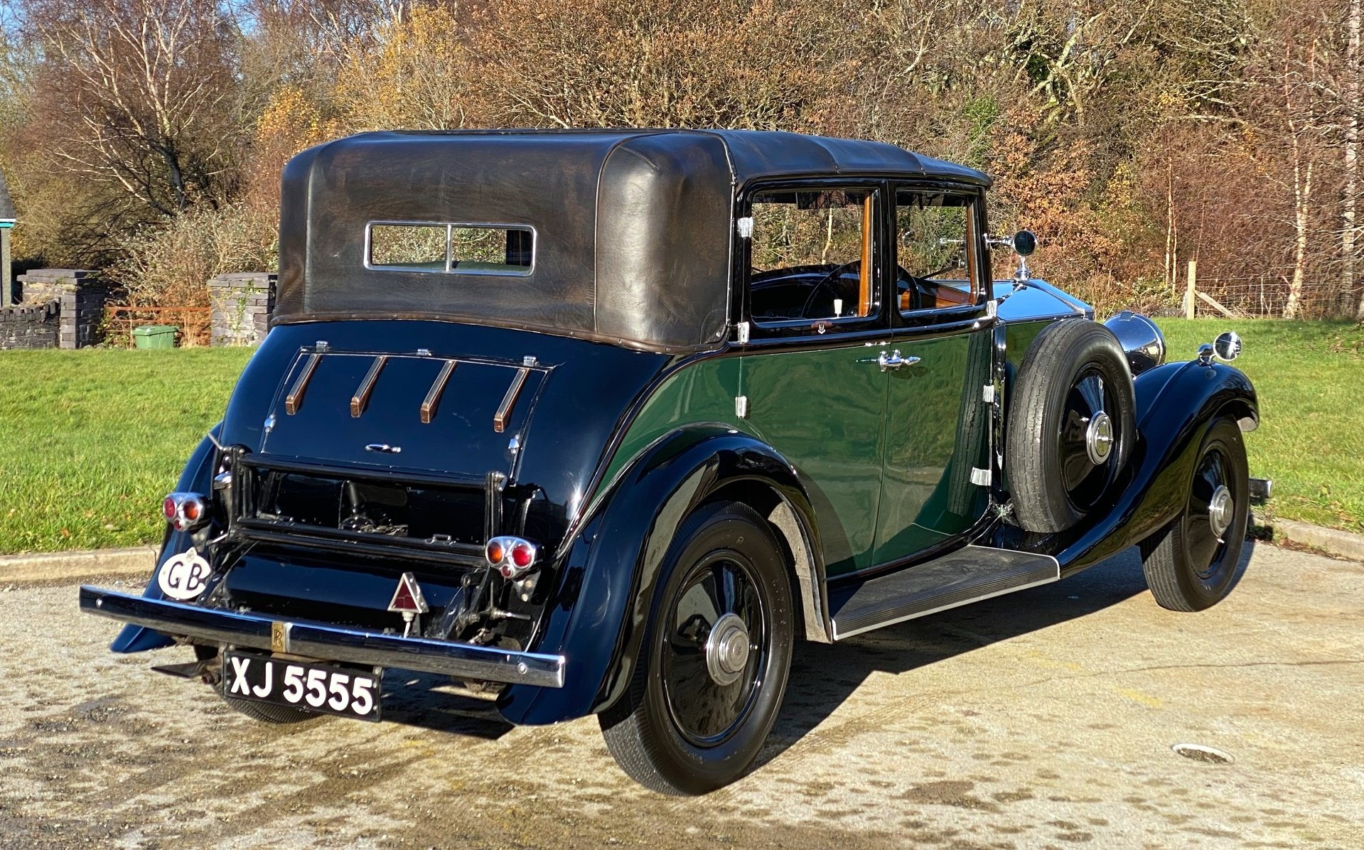 1933   20/25 Salmons 'Tickford' Cabriolet GRW52 For Sale (picture 2 of 6)