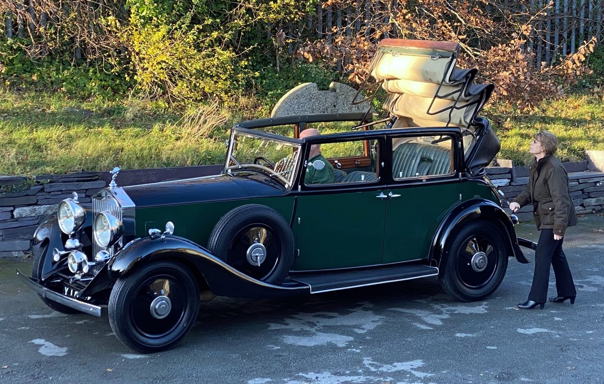 1933   20/25 Salmons 'Tickford' Cabriolet GRW52 For Sale (picture 3 of 6)