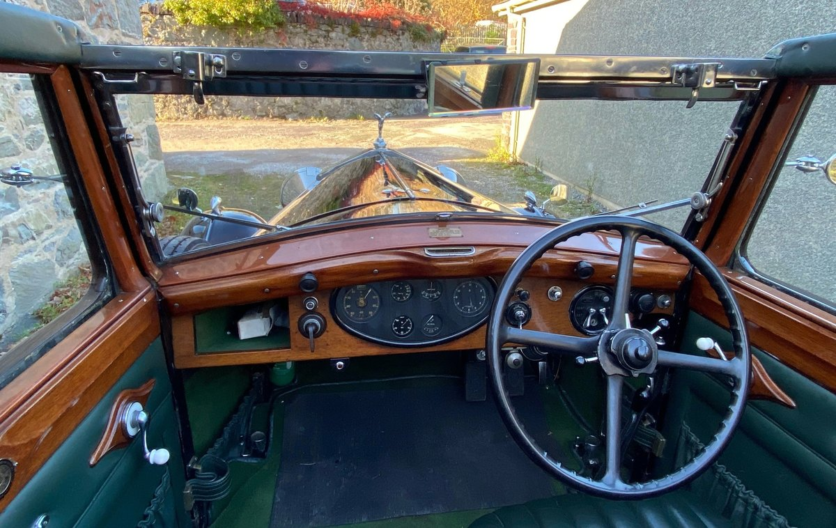 1933   20/25 Salmons 'Tickford' Cabriolet GRW52 For Sale (picture 4 of 6)