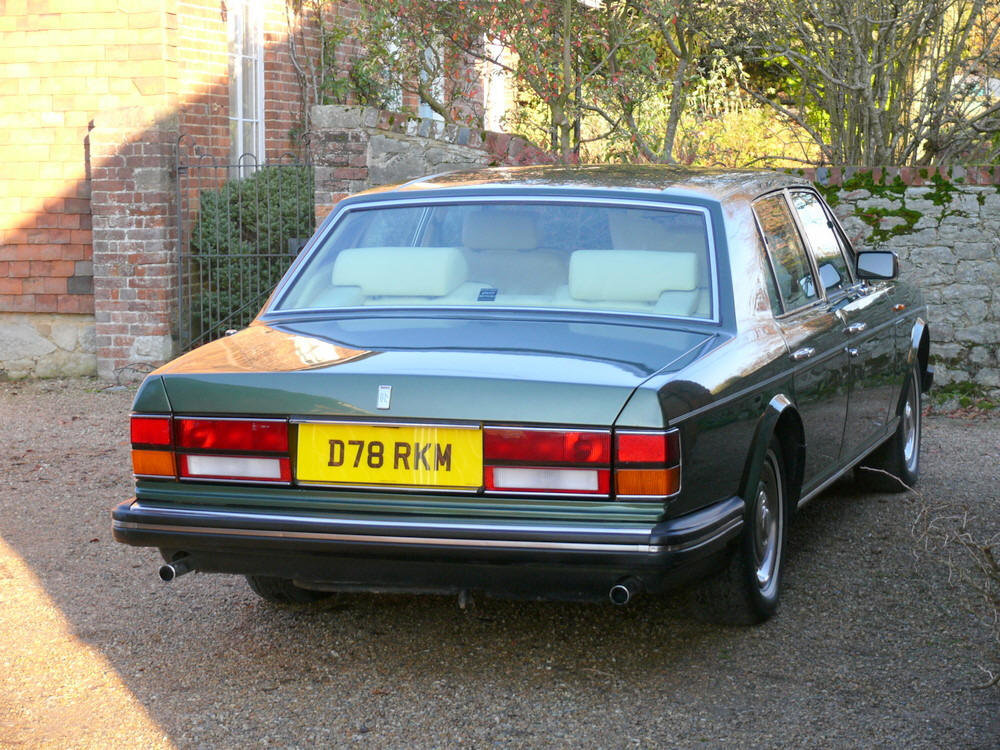1987 Rolls-Royce Silver Spirit  For Sale (picture 3 of 6)