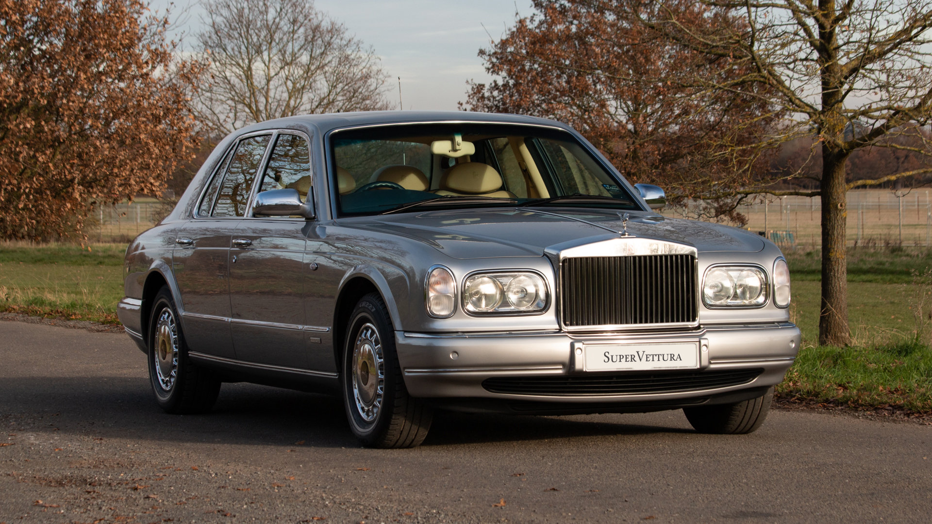 2002 Last of Line Rolls Royce Silver Seraph For Sale (picture 1 of 6)