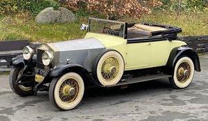 1927 Phantom I Mann Egerton Drophead Coupe + Dickey Seat For Sale
