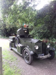1972 Rolls Royce Armoured Car