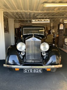 1937 Rolls Royce 25/30 with famous history