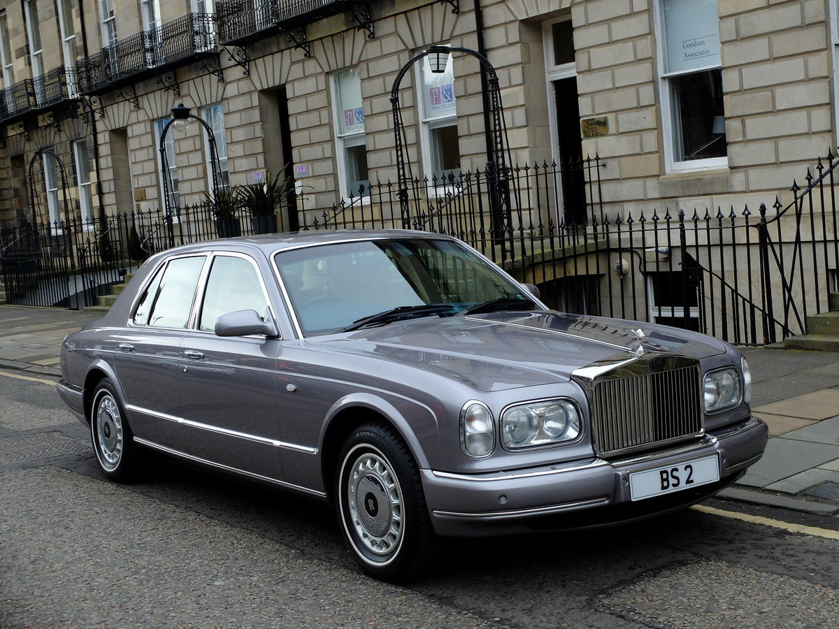 2001 ROLLS SILVER SERAPH - STUNNING - JUST 12K MILES ! SOLD (picture 1 of 6)
