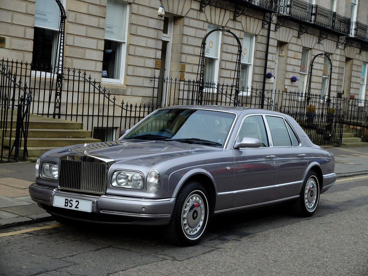 2001 ROLLS SILVER SERAPH - STUNNING - JUST 12K MILES ! SOLD (picture 2 of 6)