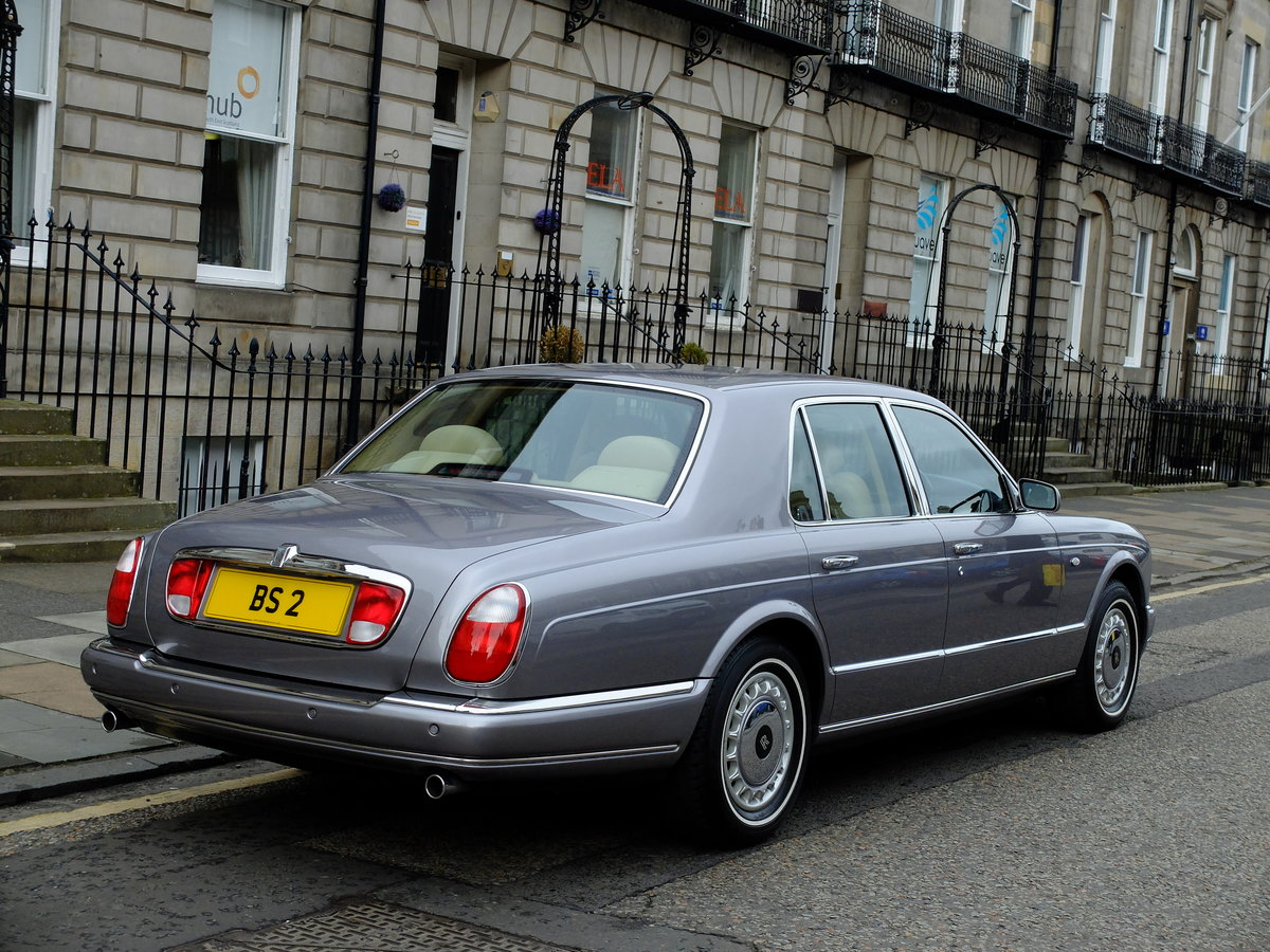 2001 ROLLS SILVER SERAPH - STUNNING - JUST 12K MILES ! SOLD (picture 3 of 6)