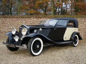 Picture of 1933 Rolls-Royce 20/25 LWB unique handmade body, fully restored For Sale