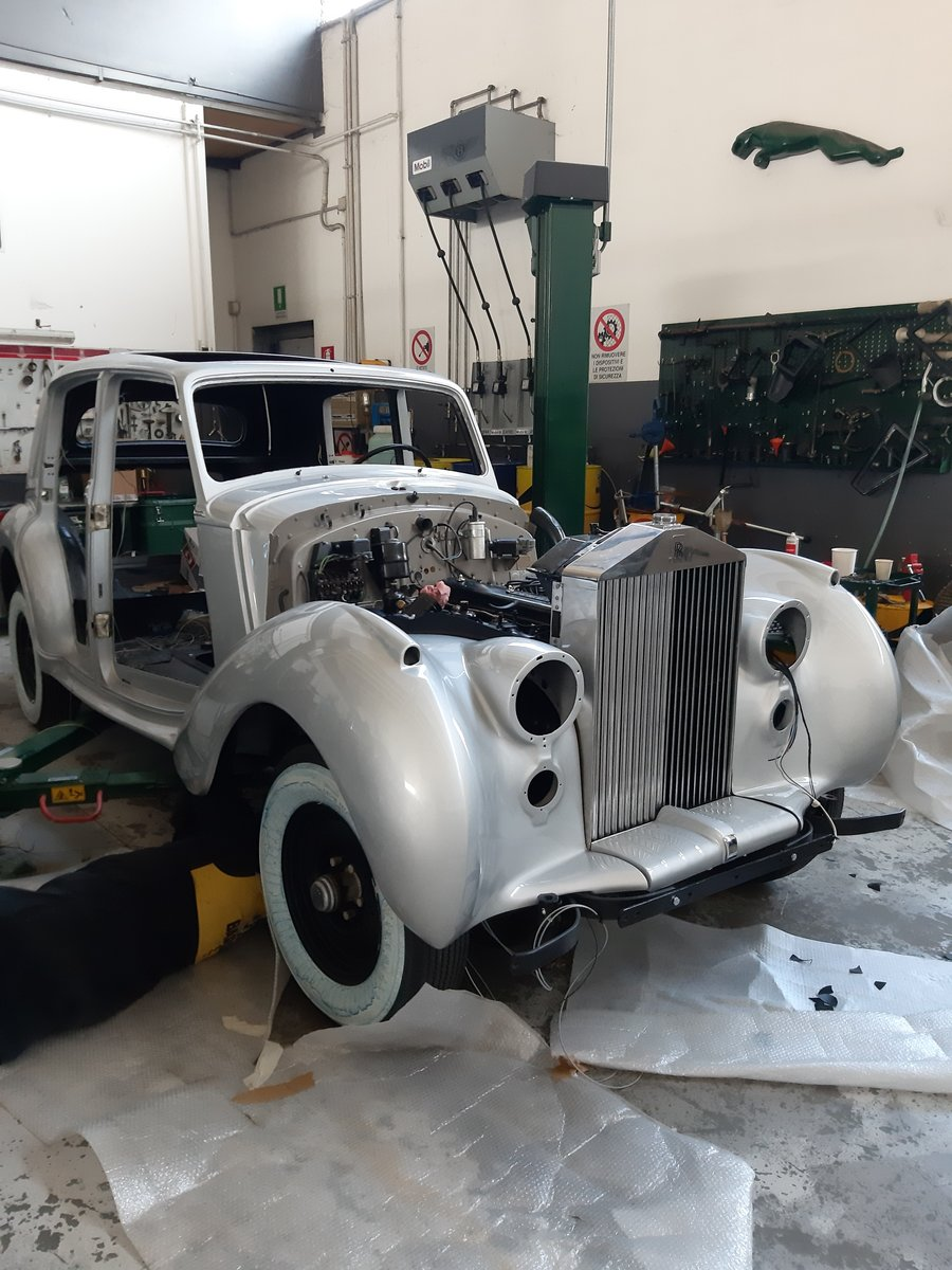 Rolls-Royce Silver Dawn LHD 1951 restored For Sale (picture 3 of 6)